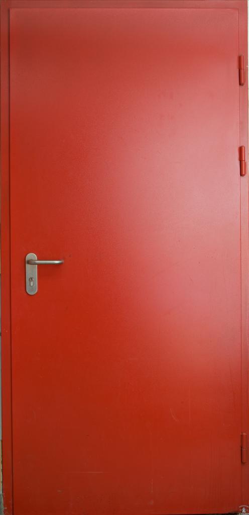 однопольная противопожарная дверь