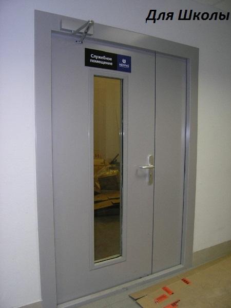 огнеупорная дверь для школы